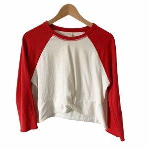 Zara girls baseball shirt